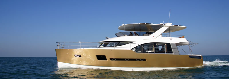 H65 power catamaran yacht